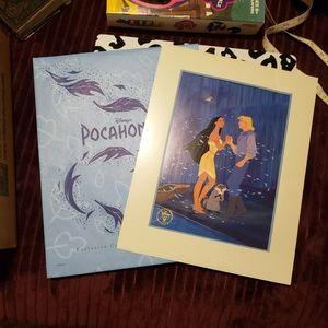 Disney Pocahontas limited lithograph